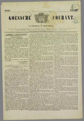 Goessche Courant 1852-12-09