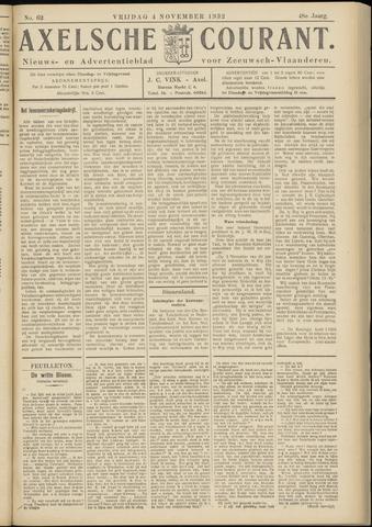 Axelsche Courant 1932-11-04