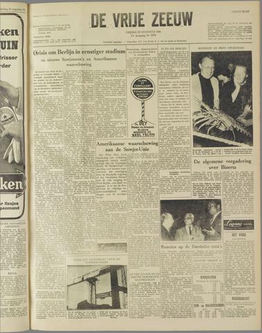 de Vrije Zeeuw 1961-08-25