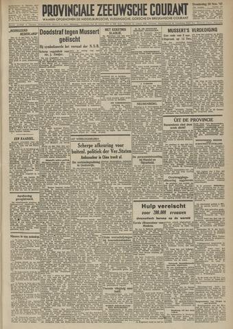 Provinciale Zeeuwse Courant 1945-11-29