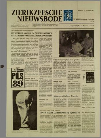 Zierikzeesche Nieuwsbode 1972-11-23