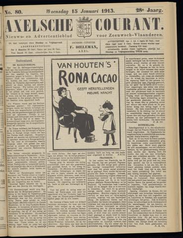 Axelsche Courant 1913-01-15