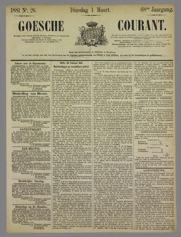 Goessche Courant 1881-03-01