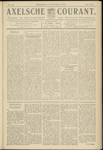 Axelsche Courant 1928-10-05