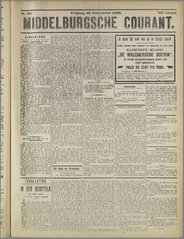 Middelburgsche Courant 1922-12-29