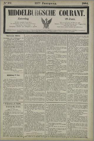 Middelburgsche Courant 1884-06-28