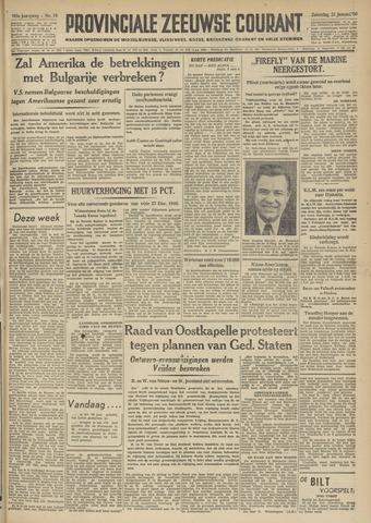 Provinciale Zeeuwse Courant 1950-01-21