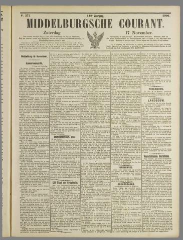 Middelburgsche Courant 1906-11-17