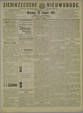 Zierikzeesche Nieuwsbode 1913-10-20