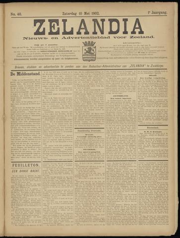 Zelandia. Nieuws-en advertentieblad voor Zeeland | edities: Het Land van Hulst en De Vier Ambachten 1902-05-10