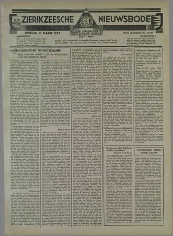 Zierikzeesche Nieuwsbode 1942-03-17