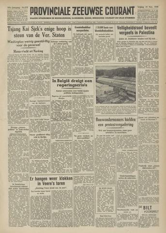 Provinciale Zeeuwse Courant 1948-11-19