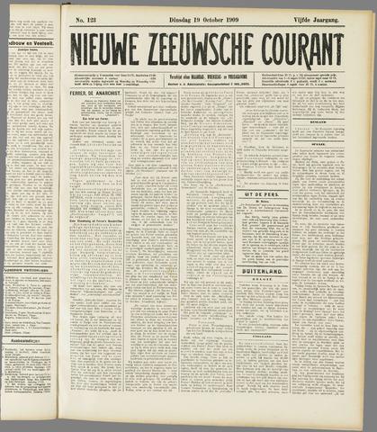 Nieuwe Zeeuwsche Courant 1909-10-19