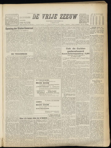 de Vrije Zeeuw 1949-09-21