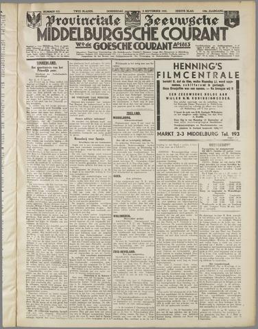 Middelburgsche Courant 1937-09-09