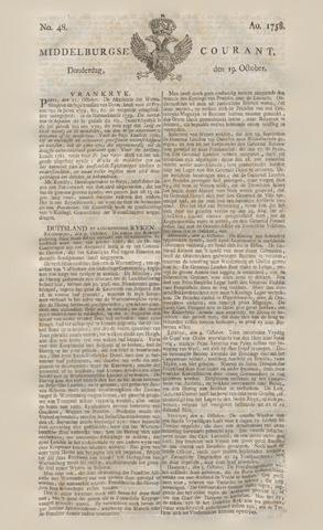 Middelburgsche Courant 1758-10-19