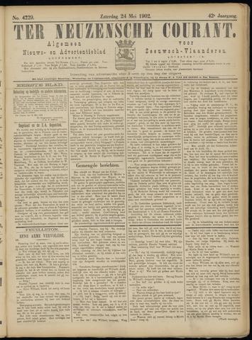 Ter Neuzensche Courant. Algemeen Nieuws- en Advertentieblad voor Zeeuwsch-Vlaanderen / Neuzensche Courant ... (idem) / (Algemeen) nieuws en advertentieblad voor Zeeuwsch-Vlaanderen 1902-05-24