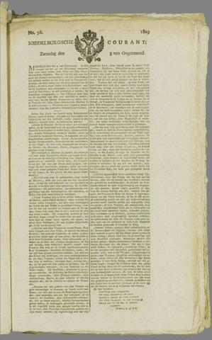 Middelburgsche Courant 1809-08-05