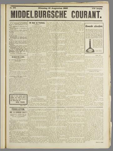 Middelburgsche Courant 1927-08-16