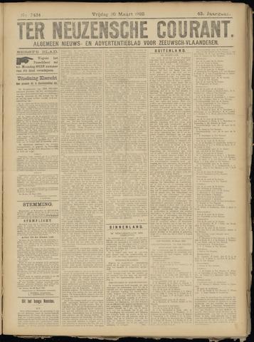 Ter Neuzensche Courant. Algemeen Nieuws- en Advertentieblad voor Zeeuwsch-Vlaanderen / Neuzensche Courant ... (idem) / (Algemeen) nieuws en advertentieblad voor Zeeuwsch-Vlaanderen 1923-03-30