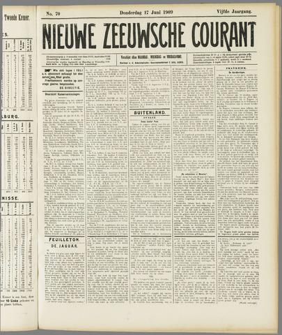 Nieuwe Zeeuwsche Courant 1909-06-17