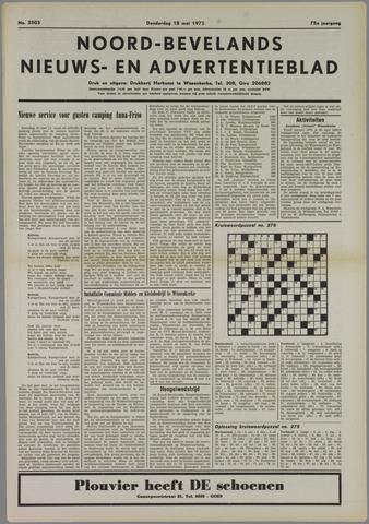 Noord-Bevelands Nieuws- en advertentieblad 1972-05-18