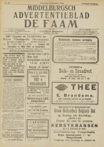 de Faam en de Faam/de Vlissinger 1915-12-22