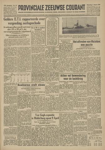 Provinciale Zeeuwse Courant 1949-03-07