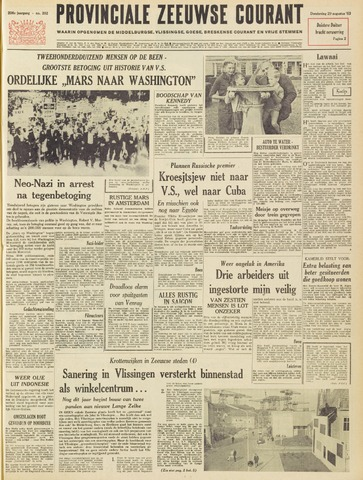 Provinciale Zeeuwse Courant 1963-08-29