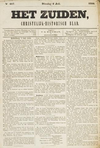 Het Zuiden, Christelijk-historisch blad 1880-07-06
