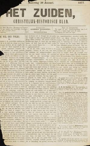 Het Zuiden, Christelijk-historisch blad 1877-01-20