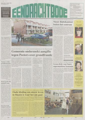 Eendrachtbode (1945-heden)/Mededeelingenblad voor het eiland Tholen (1944/45) 2012-10-11