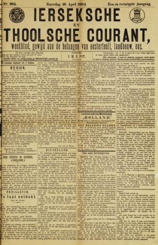 Ierseksche en Thoolsche Courant 1904-04-16