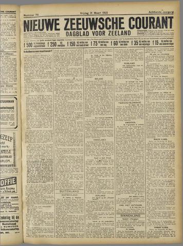 Nieuwe Zeeuwsche Courant 1922-03-31