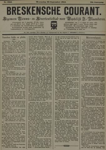 Breskensche Courant 1914-09-23