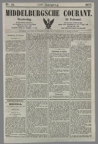 Middelburgsche Courant 1877-02-22
