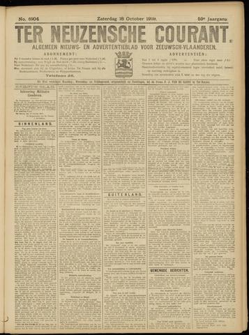 Ter Neuzensche Courant. Algemeen Nieuws- en Advertentieblad voor Zeeuwsch-Vlaanderen / Neuzensche Courant ... (idem) / (Algemeen) nieuws en advertentieblad voor Zeeuwsch-Vlaanderen 1919-10-18
