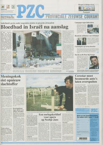 Provinciale Zeeuwse Courant 2001-08-10