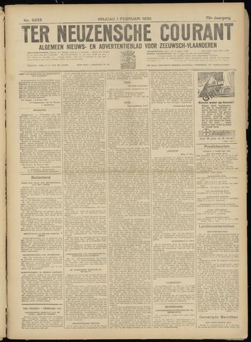 Ter Neuzensche Courant. Algemeen Nieuws- en Advertentieblad voor Zeeuwsch-Vlaanderen / Neuzensche Courant ... (idem) / (Algemeen) nieuws en advertentieblad voor Zeeuwsch-Vlaanderen 1935-02-01