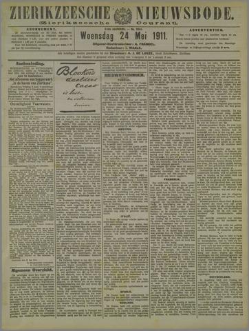Zierikzeesche Nieuwsbode 1911-05-24