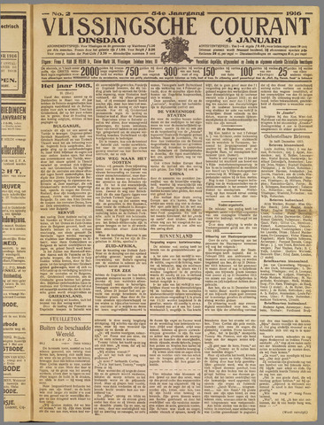 Vlissingse Courant 1916