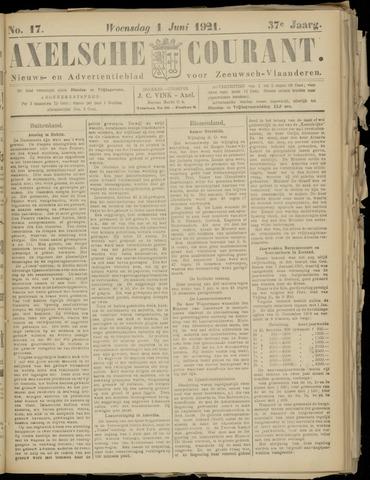 Axelsche Courant 1921-06-01