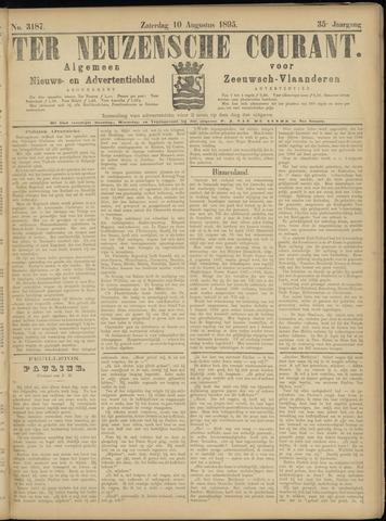 Ter Neuzensche Courant. Algemeen Nieuws- en Advertentieblad voor Zeeuwsch-Vlaanderen / Neuzensche Courant ... (idem) / (Algemeen) nieuws en advertentieblad voor Zeeuwsch-Vlaanderen 1895-08-10
