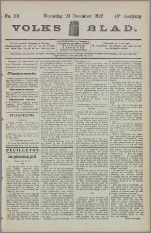 Volksblad 1922-12-20