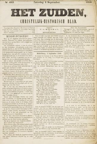Het Zuiden, Christelijk-historisch blad 1880-09-04