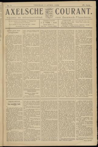 Axelsche Courant 1932-04-08