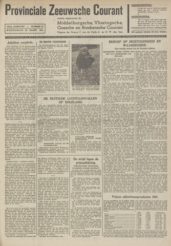Provinciale Zeeuwse Courant 1941-03-19