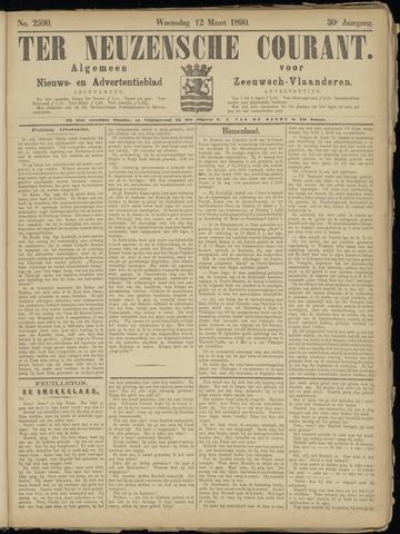 Ter Neuzensche Courant. Algemeen Nieuws- en Advertentieblad voor Zeeuwsch-Vlaanderen / Neuzensche Courant ... (idem) / (Algemeen) nieuws en advertentieblad voor Zeeuwsch-Vlaanderen 1890-03-12