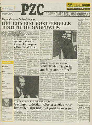 Provinciale Zeeuwse Courant 1977-10-05