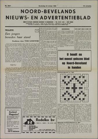 Noord-Bevelands Nieuws- en advertentieblad 1980-10-23